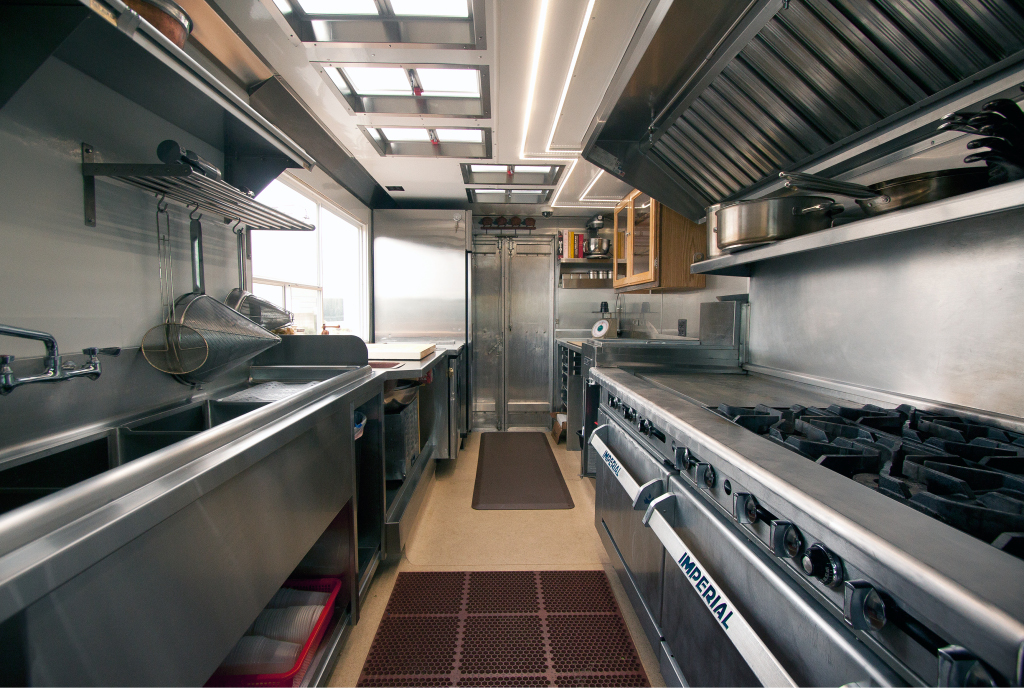 Food truck kitchen layout quotes for Kitchen setups interior