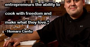 Homaro Cantui Food Truck Quote