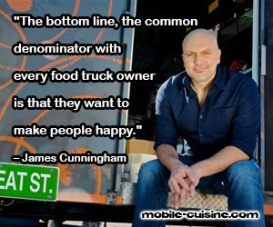 James Cunningham Food Truck Quote