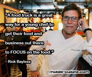Rick Bayless Food Truck Quote