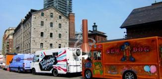 toronto food trucks on street