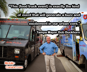 Bob Buckhorn Food Truck Quote