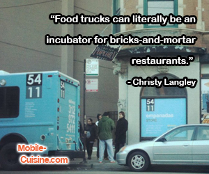 Christy Langley Food Truck Quote