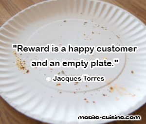 Jacques Torres Food Quote
