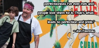 Jon Favreau Chef Quote