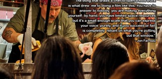 Jon Favreau Food Truck Quote