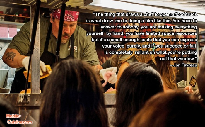 Jon Favreau Food Truck Quote