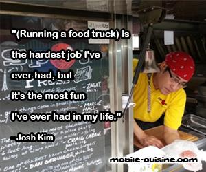 Josh Kim Food Truck Quote