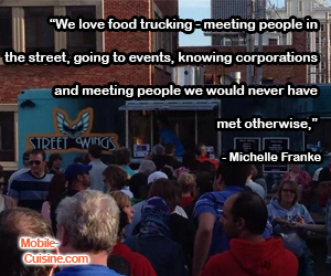 Michelle Franke Food Truck Quote