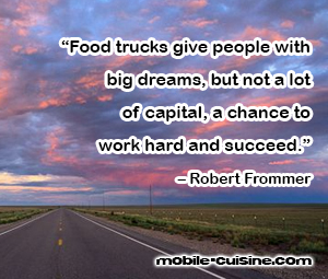 Robert Frommer Food Truck Quote