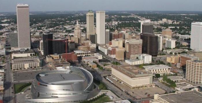 Tulsa OK Skyline