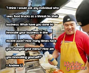 Andrew Li Food Truck Quote