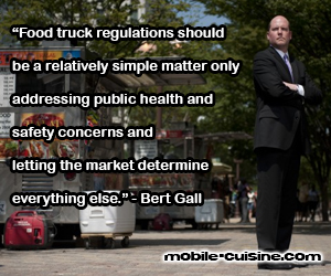 Bert Gall Food Truck Quote