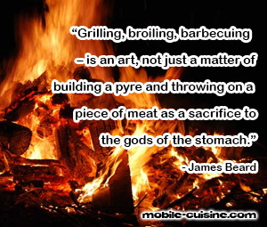 James Beard BBQ Quote