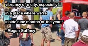 Megan Gaffney Food Truck Quote