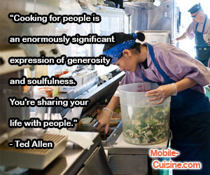 Ted Allen Cooking Quote
