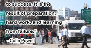 colin powell sucess quote