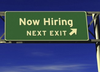 now-hiring-highway sign