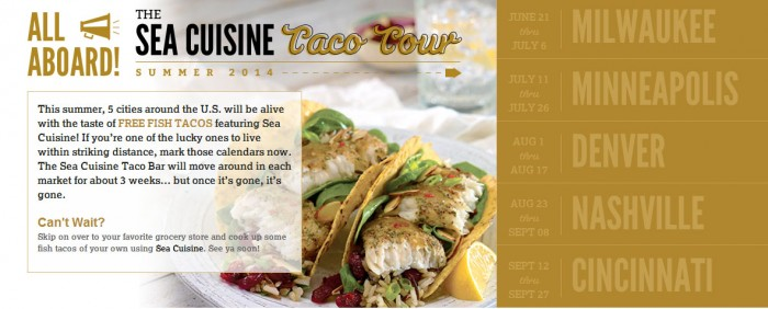 sea cuisine food truck tour