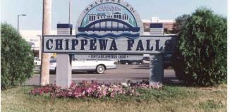 Chippewa falls wi sign