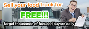Food Truck Sales Ad 300x100