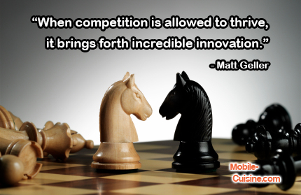 Matt Geller Competition Quote