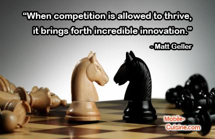 Matt Geller Competition Quote