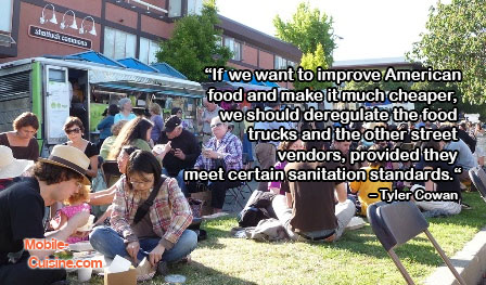 Tyler Cowen Food Truck Quote