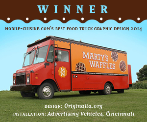 best food truck graphic ad