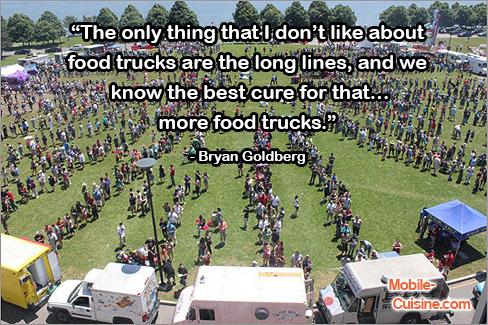 Bryan Goldberg Food Truck Quote