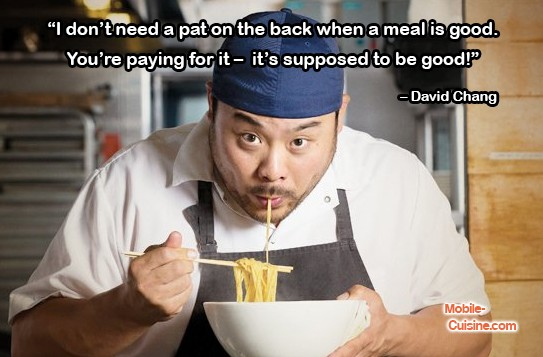 David Chang Food Quote