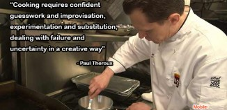 Paul Theroux Cooking Quote