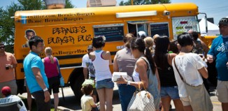 bernies burger bus houston