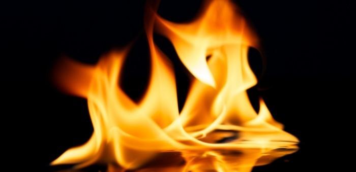 deep fryer fire