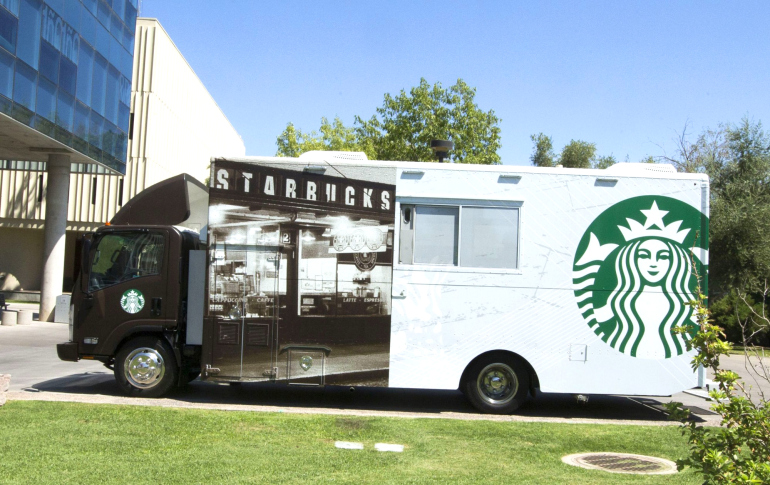 Starbucks food truck