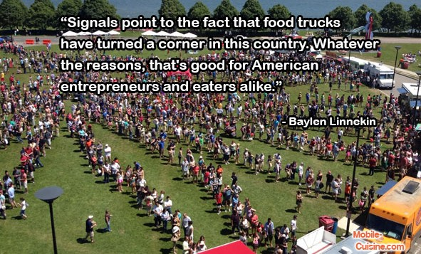 Baylen Linnekin Food Truck Quote
