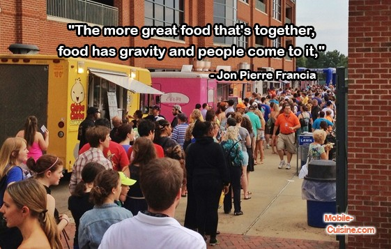 Jon Pierre Francia Food Truck Quote