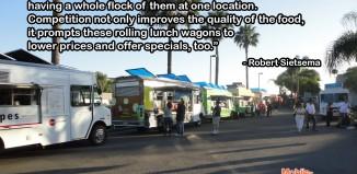 Robert Sietsema Food Truck Quote