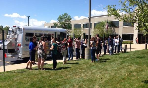 food truck queues