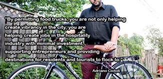 Adriano Ciotoli Food Truck Quote