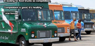 Josie Gonzales Food Truck Competition Quote