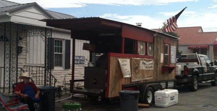hillbilly food trailer