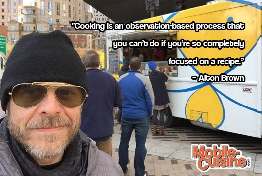 Alton Brown Cooking Quote