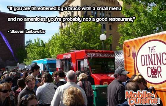 Steven Leibowitz Food Truck Quote