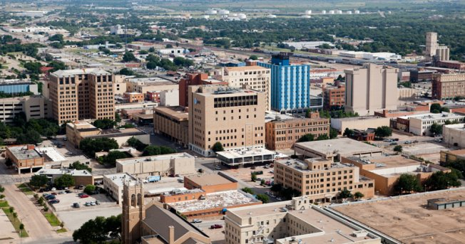 wichita falls downtown