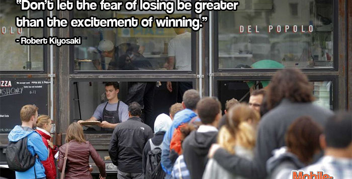 Robert Kiyosaki Fear Quote