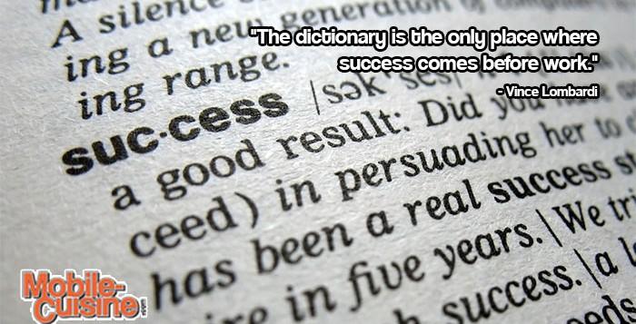 Vince Lombardi Success Quote