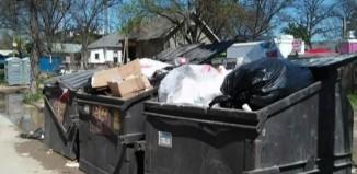 food truck trash
