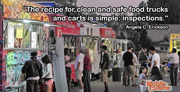 Angela Erickson Food Truck Safety Quote