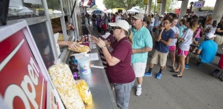 santa fe food truck line